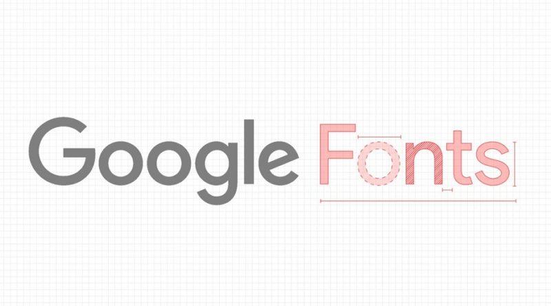 Top 40 google fonts
