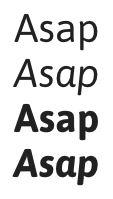 google fonts asap