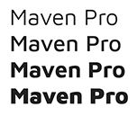 google fonts maven pro