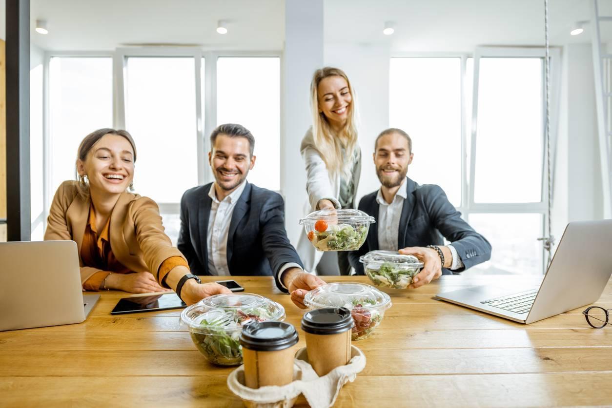 livraison de repas en entreprise avantages